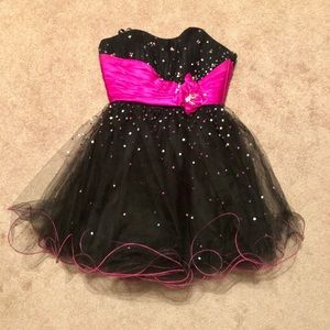 Mori Lee Sequined Embellished Party/Formal Dress